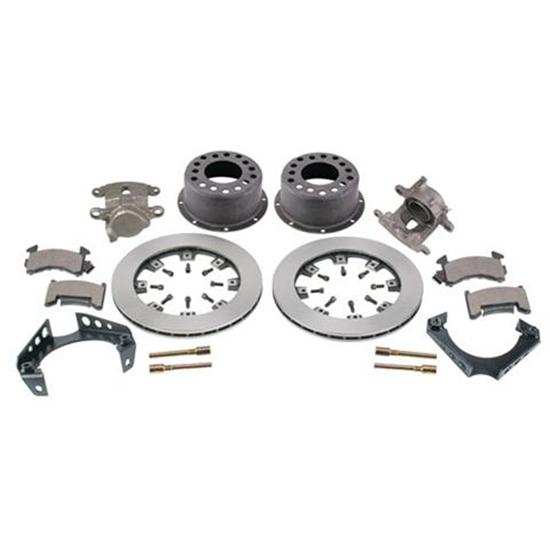Weld-On Rear Disc Brake Kit, 1978-88 GM Caliper, 1.59 Inch Backspace