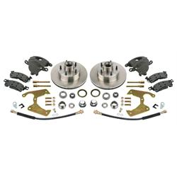 Brake Kit 1969-77 GM Caliper to Early Ford Spindle, Ford B-P