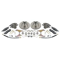 Disc Brake Kit, 1969-77 GM Caliper to Early Ford Spindle, 5 on 4-3/4In