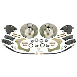 Mustang II Complete 11 Inch Front Disc Brake Kit, 5 on 4-3/4 Inch