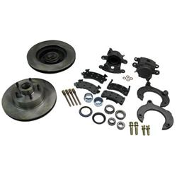 Mustang II Complete 11 Inch Brake Kit, Ford Bolt Pattern