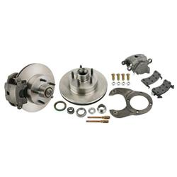 Disc Brake Kit 1978-88 GM Caliper to Early Ford Spindle, 5 on 4-3/4 Inch