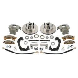 Mustang II Disc Brake Kit for Early Chevy Spindles, 5 on 4-1/2 Inch