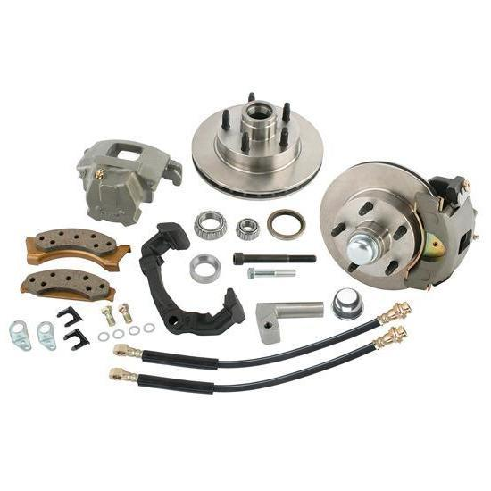 Mustang II Brake Kits for Early Chevy Spindles, GM 4.75 Pattern