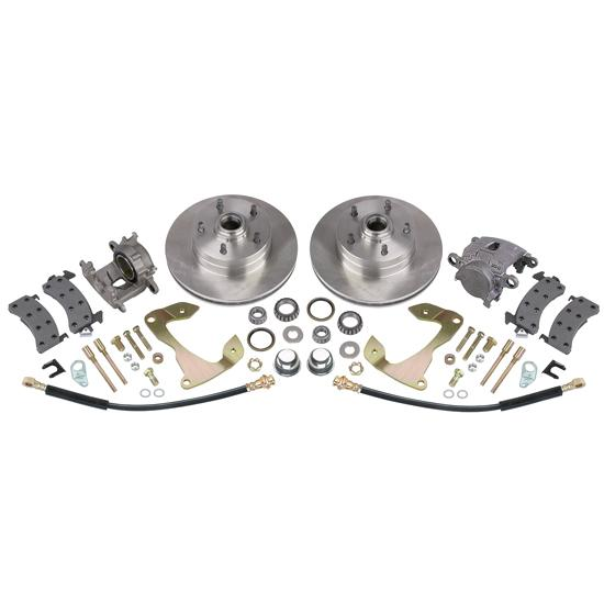 Speedway 1955-57 Chevy Deluxe Front Disc Brake Kit