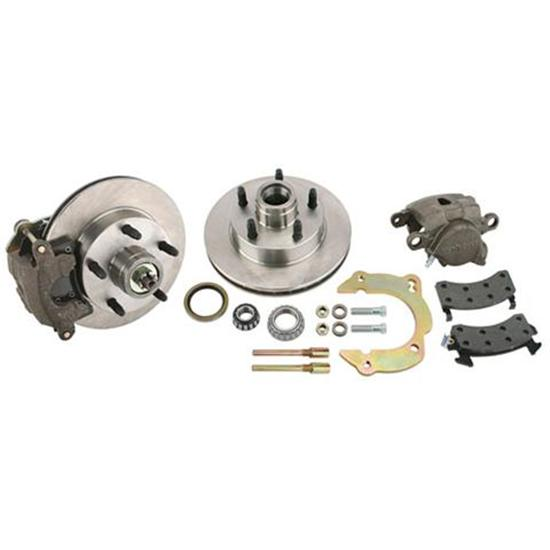 Front Disc Brake Kit GM Metric/Mustang II to 1949-54 Chevy, 5 on 4-3/4