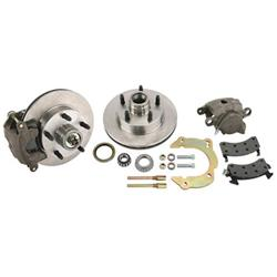 Front Disc Brake Kit, GM Metric/Mustang II to 1949-54 Chevy Spindle, 5 on 4-3/4