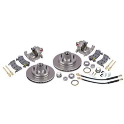 1964-72 Chevy Brake Kit for Drop Spindles