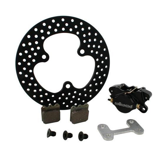 Sprint Left Front Brake Kit with Speedway Brake Rotor