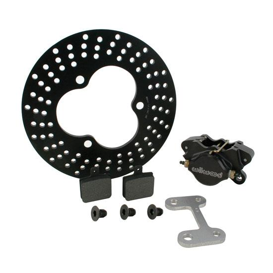 Sprint Left Front Brake Kit with Wilwood Rotor