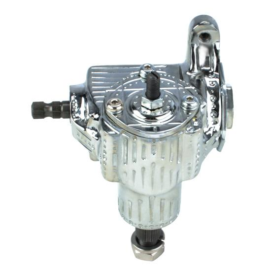 Flaming River FR1500TC Chrome Tech-V Vega Steering Box