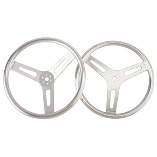 15 Inch Standard Flat Aluminum Steering Wheel