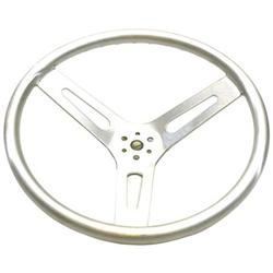 15 Inch Standard Dish Aluminum Steering Wheel