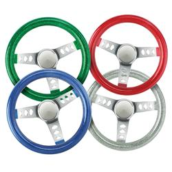 Metalflake Steering Wheels, 9-3/4 Inch
