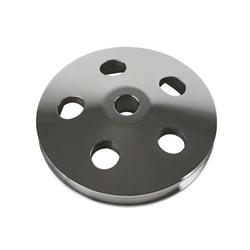 Unisteer 8020630 Polished V-Belt Pulley for Aluminum Pumps