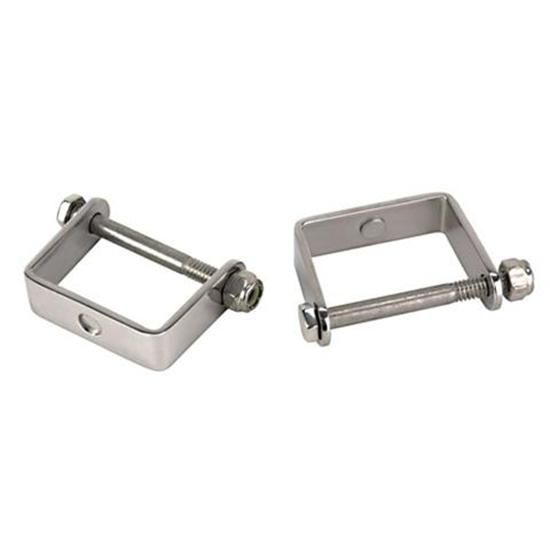 Stainless Steel Spring Clamps, 1-3/4 Inch Wide Leaf Spring