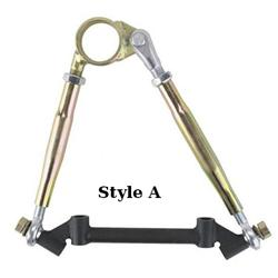 IMCA Modified Adj. Upper Control Arms Offset w/ Cross Shaft, 10-1/4 Inch