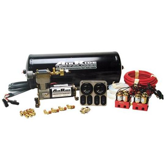 RideTech 30154000 Air Ride Suspension RidePro 4-Wheel Compressor System