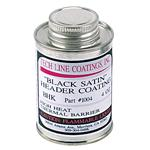 Tech Line Coatings Black Satin Ceramic Header Coating, 4 Oz.