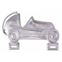 Vintage Midget License Plate Topper