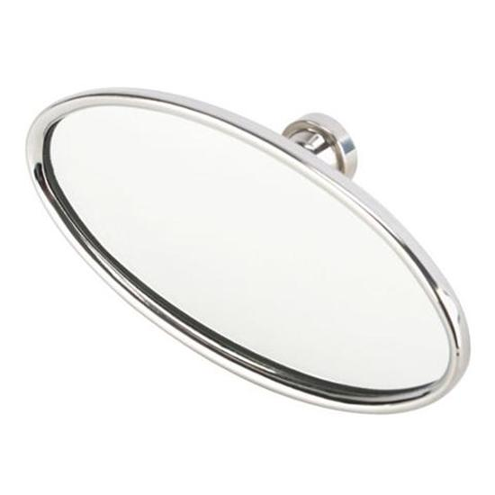 Stainless Steel Oval Interior Mirror