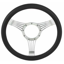 Chrome Plated Billet Banjo Style Steering Wheel