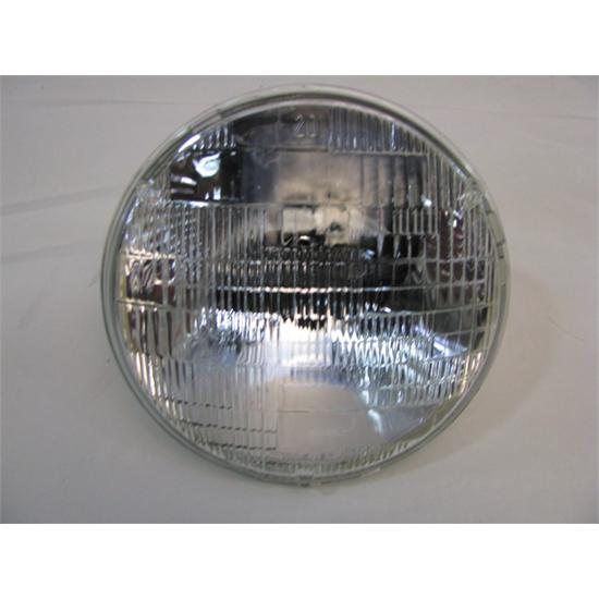 12 Volt 7 Inch Round Hi/Low Sealed Beam Headlight, Replacement Bulb