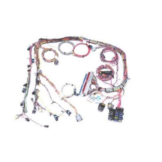 painless wiring 60218 1999 2005 gm vortec engine harness extended free shipping speedway motors