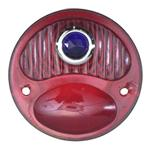 1928-1931 Ford Model A Blue Dot Tail Light Lens