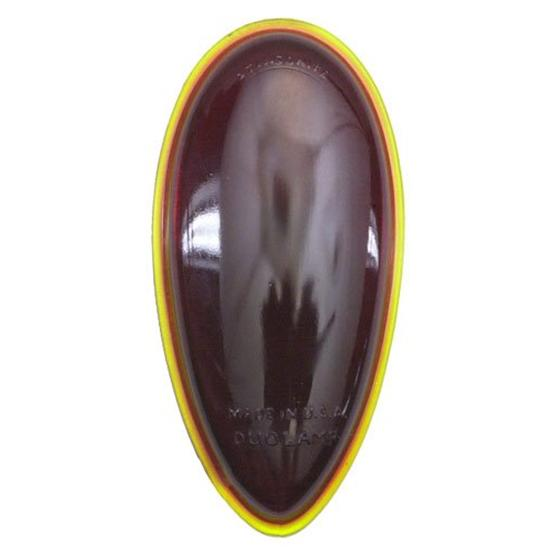 1938-39 Ford Red Glass Taillight Lens, Passenger Cars