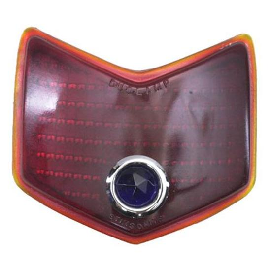 1940 Ford Blue Dot Taillight Lens, Passenger Car