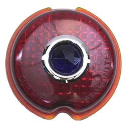 1939 Chevy Blue Dot Tail Light Lens, Passenger Car