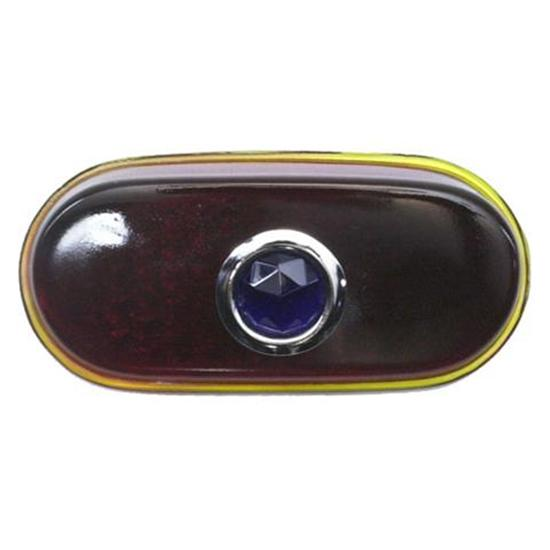 1940 Chevy Blue Dot Taillight Lens, Passenger Car