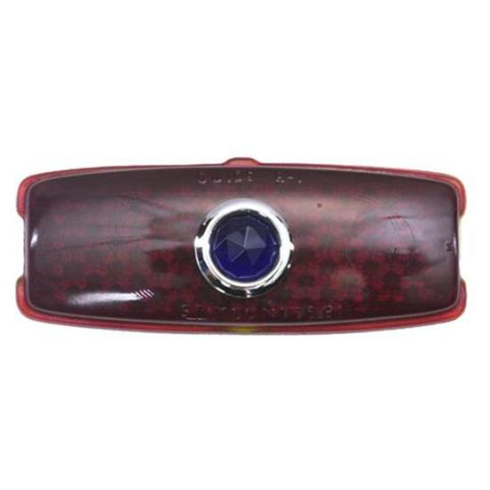 1941-1948 Chevy Blue Dot Taillight Lens, Passenger Car