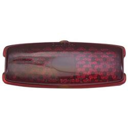 1941-1948 Chevy Tail Light Replacement Lens, Passenger Car