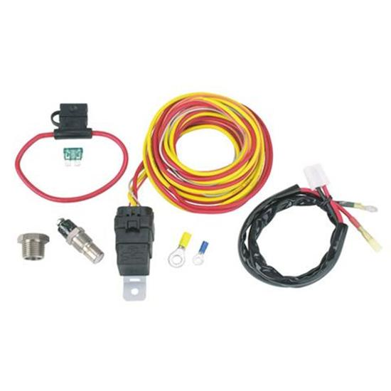 SPAL Thermoswitch Relay and Wiring Harness Kit