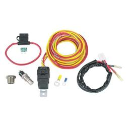 Spal Cooling Fan Relay Kit & Harness, On at 185/ Off at 165 Degrees