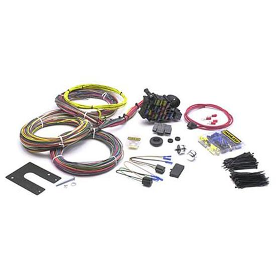 new painless wiring 18 circuit universal wire harness gm non keyed column ebay