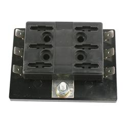 street rod sensors relays senders and fuses shipping fuse block six push in fuses