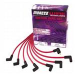 Moroso Ready Install Plug Wires StdCap/Under Header/Blk