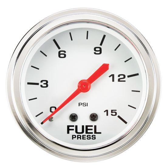 Speedway inch fuel pressure gauge
