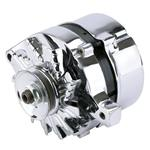Ford Chrome Alternator, 60 Amp