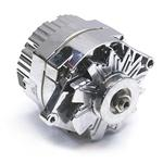 GM Chrome One Wire Alternator, 60 Amp