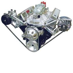Small Block Chevy Outboard Drive Kits, Alternator & A/C