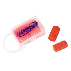 Speedway Ear Plugs with Case, Set of 6