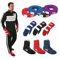 Safety Racing One Piece Suit Safety Combo