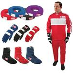 Safety Racing Two Piece Suit Safety Combo