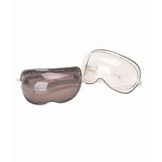 Speedway Bubble Goggles, Vented Lens, Adjustable Strap