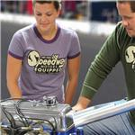 Garage Sale - Ladies Vintage Speedway Equipped T-Shirt