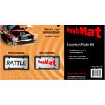 HushMat 10600 Ultra License Plate Kit